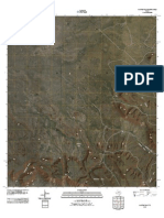 Topographic Map of Cactus Flat