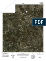 Topographic Map of Caddo