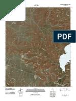 Topographic Map of McDowell Creek