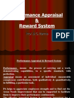 7. Performance Appraisal & Reward System