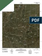 Topographic Map of Hayrick Mountain