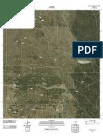 Topographic Map of Rosita Lake
