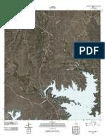 Topographic Map of California Creek