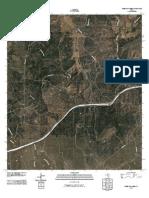 Topographic Map of Sheep Run Creek