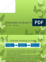 Alternate Contract Farming