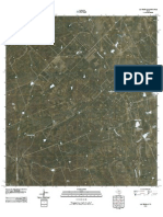 Topographic Map of Las Tiendas