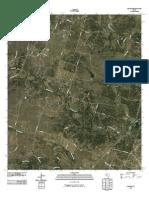 Topographic Map of Pidcoke