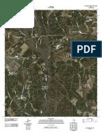 Topographic Map of Dallardsville