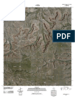 Topographic Map of Sherbino Mesa