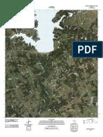 Topographic Map of Round Prairie