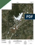 Topographic Map of Alcoa Lake