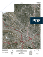 Topographic Map of Dallas