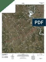 Topographic Map of McQueeney
