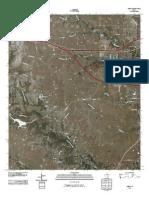 Topographic Map of Aledo