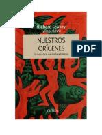 Leakey, Richard & Roger Lewin_Nuestros orígenes