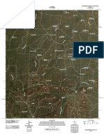 Topographic Map of McWhorter Mountain