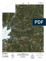 Topographic Map of Pineland South