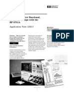 HP-AN1202!3!3 Steps to Better Baseband, If, And RF Design With the HP 8751A