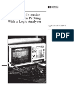HP-AN1244-1_Minimizing Intrusion Effects When Probing With a Logic Analyzer