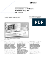HP-AN1255-3_Permittivity Measurements of PC Board and Substrate Materials