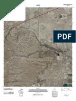 Topographic Map of Hermosa SW