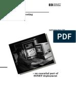HP-AN1281_Conformance Testing - An Essential Part of SONET Deployment