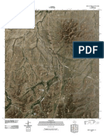 Topographic Map of Sierra Madera