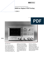 HP-AN1288-3_Using the HP 4396B for Digital VTR Testing
