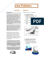 Marine Pollution Booklet