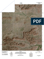Topographic Map of Cap Rock Butte