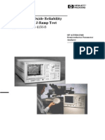 HP AN4156 8_Evaluation of Oxide Reliability Using v Ramp J Ramp Tests