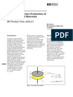 HP-PN4291A-5_Dielectric Constant Measurement of Rough-Surfaced Materials