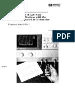 HP-PN8504-1_Measurements of Lightwave Component Reflections