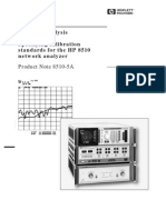HP-PN8510-5A_Network Analysis Specifying Calibration Standards