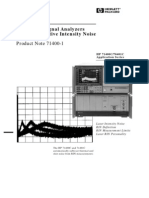 HP-PN71400-1_Lightwave Signal Analyzers Measure Relative Intensity Noise