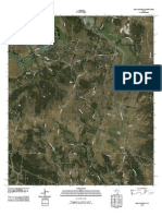 Topographic Map of Leon Junction