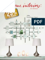 Home Interiors Folleto de Promociones Agosto 2012