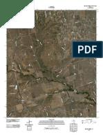 Topographic Map of Beaver Creek