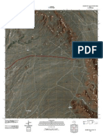 Topographic Map of Silver King Canyon