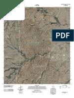 Topographic Map of Rustler Hills