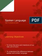 Spoken Language SoW[1]