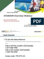STARDOM Overview Webinar