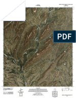 Topographic Map of Simpson Springs Mountain
