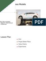 BUSI 660 - Business Models Economics - Better Place -DIST