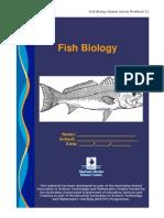 Fish Biology Student Activity Workbook