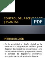 Control Del Ascensor de 5 Plantas