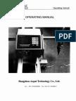 Operating Manual Aupal CNC Cutting Machine