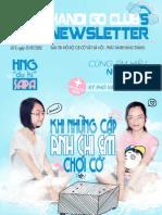 Bản tin clb Cờ Vây Hà Nội số 9 - tháng 7/2012