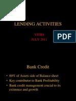 Lending Activities