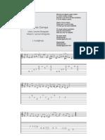 Fado da Campa - Letra, pauta e tablatura
